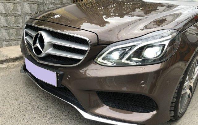 Cần bán lại xe Mercedes E class năm 2016 còn mới6