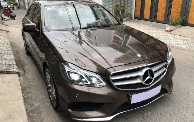 Cần bán lại xe Mercedes E class năm 2016 còn mới11