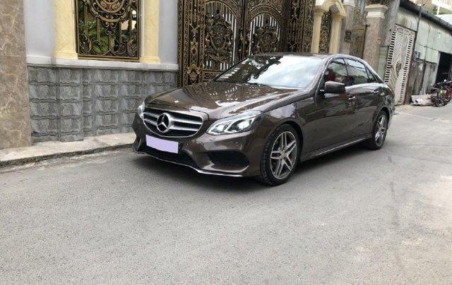 Cần bán lại xe Mercedes E class năm 2016 còn mới10