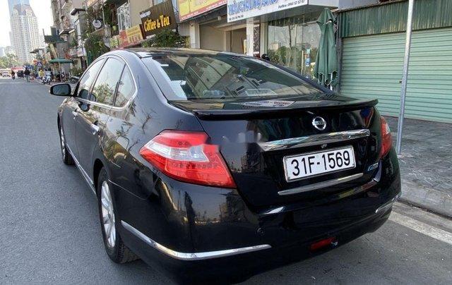 Bán ô tô Nissan Teana năm 2011, màu đen, nhập khẩu 0