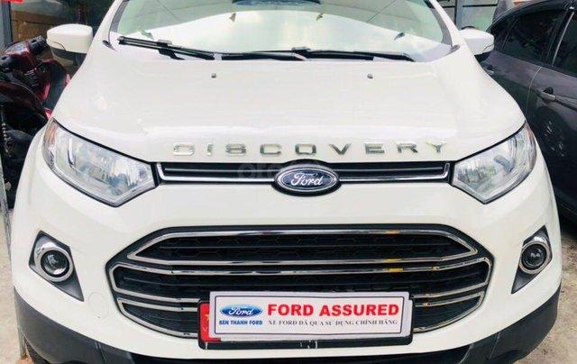 Cần bán gấp Ford EcoSport đời 2015, màu trắng nhập khẩu nguyên chiếc giá 415 triệu đồng1