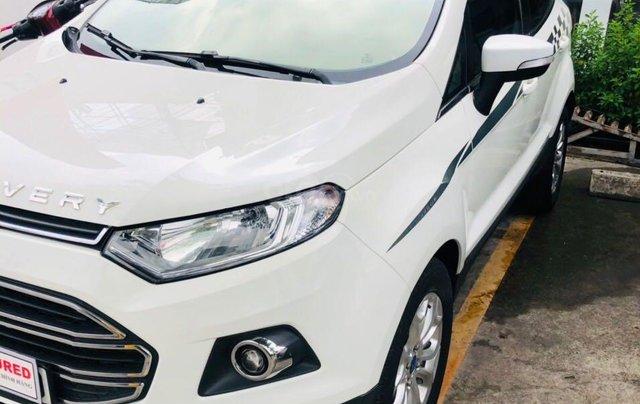Cần bán gấp Ford EcoSport đời 2015, màu trắng nhập khẩu nguyên chiếc giá 415 triệu đồng0