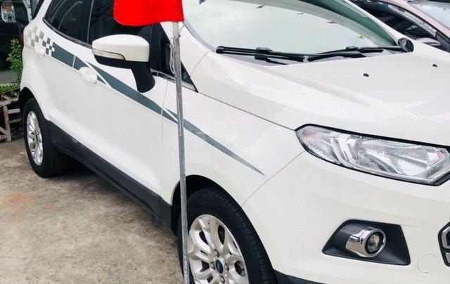 Cần bán gấp Ford EcoSport đời 2015, màu trắng nhập khẩu nguyên chiếc giá 415 triệu đồng2