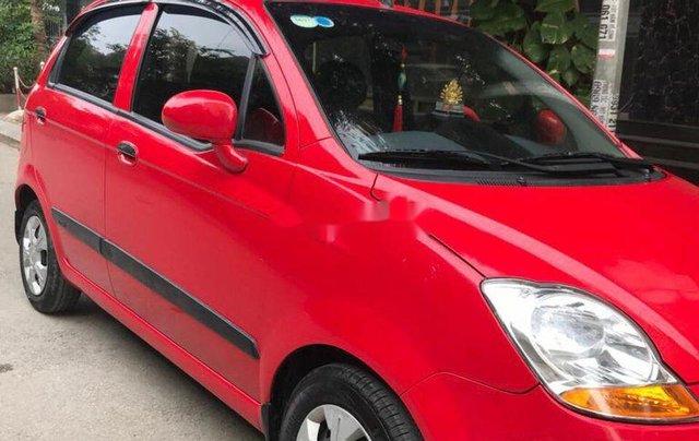 Bán Chevrolet Spark đời 2015, màu đỏ chính chủ, giá tốt5