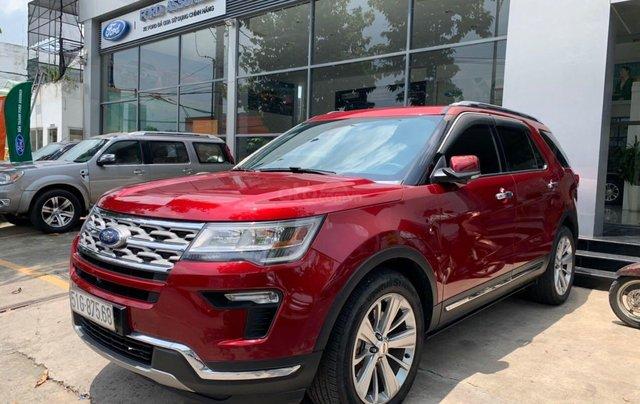 Cần bán lại xe Ford Explorer đời 2018, màu đỏ, chính chủ, giá chỉ 1 tỷ 880 triệu đồng1