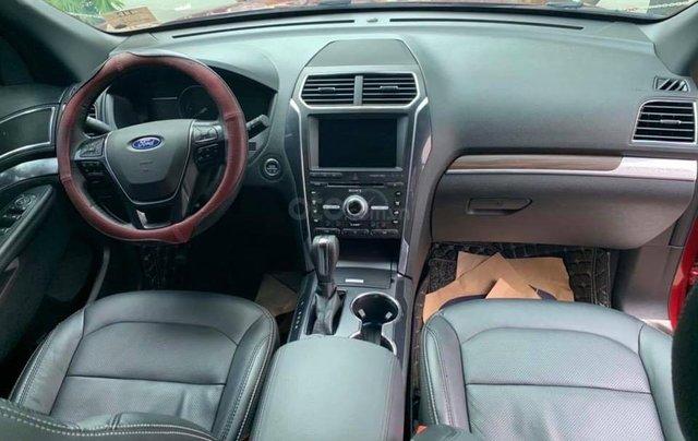 Cần bán lại xe Ford Explorer đời 2018, màu đỏ, chính chủ, giá chỉ 1 tỷ 880 triệu đồng5