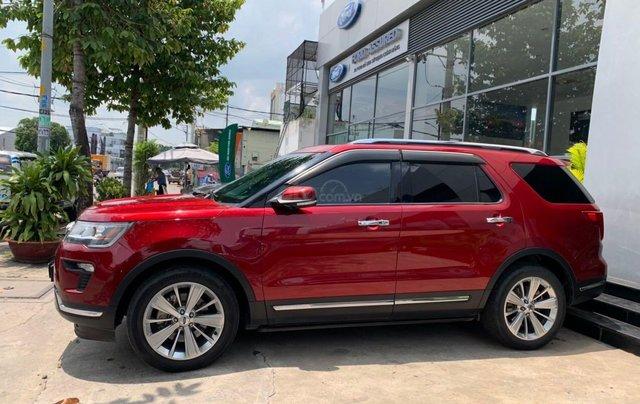 Cần bán lại xe Ford Explorer đời 2018, màu đỏ, chính chủ, giá chỉ 1 tỷ 880 triệu đồng3