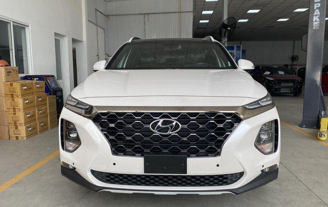 Bán nhanh chiếc Hyundai Santa Fe 2020 dầu cao cấp0