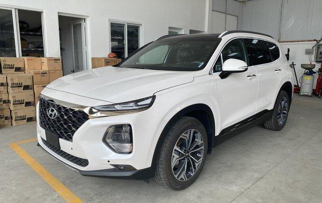 Bán nhanh chiếc Hyundai Santa Fe 2020 dầu cao cấp1