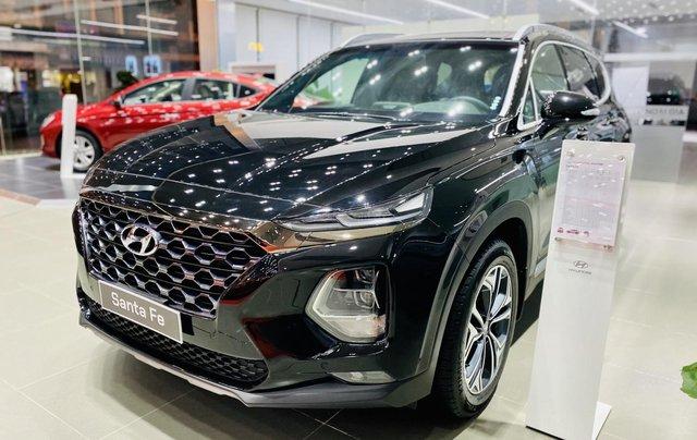 Hyundai Santa Fe cao cấp, giảm tiền mặt 63 triệu, tặng phụ kiện chính hãng, hỗ trợ góp 85% giá trị xe, duyệt hồ sơ nhanh2