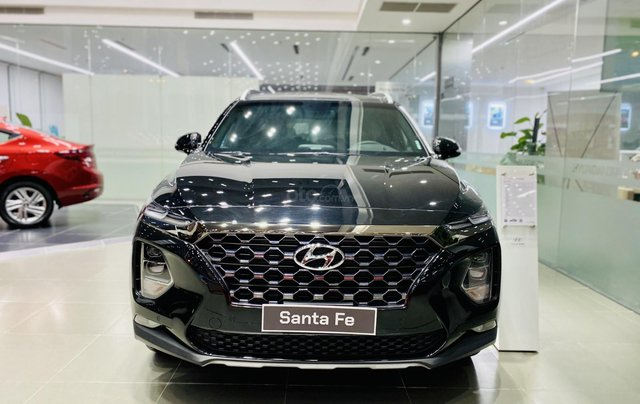 Hyundai Santa Fe cao cấp, giảm tiền mặt 63 triệu, tặng phụ kiện chính hãng, hỗ trợ góp 85% giá trị xe, duyệt hồ sơ nhanh1