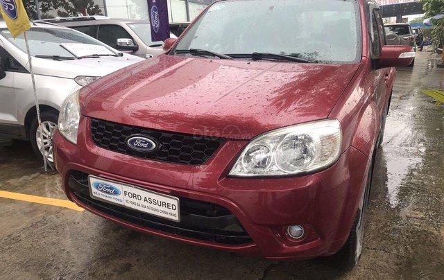 Bán ô tô Ford Escape sản xuất 2011, màu đỏ xe gia đình giá chỉ 415 triệu đồng0