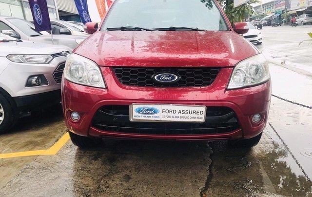 Bán ô tô Ford Escape sản xuất 2011, màu đỏ xe gia đình giá chỉ 415 triệu đồng1
