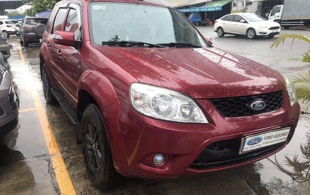 Bán ô tô Ford Escape sản xuất 2011, màu đỏ xe gia đình giá chỉ 415 triệu đồng2