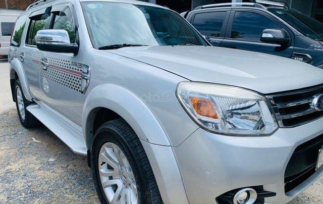 Bán Ford Everest đăng ký lần đầu 2013, màu bạc xe gia đình giá 515 triệu đồng0