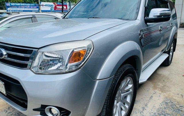Bán Ford Everest đăng ký lần đầu 2013, màu bạc xe gia đình giá 515 triệu đồng4