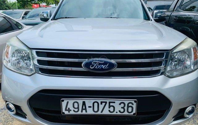 Bán Ford Everest đăng ký lần đầu 2013, màu bạc xe gia đình giá 515 triệu đồng1