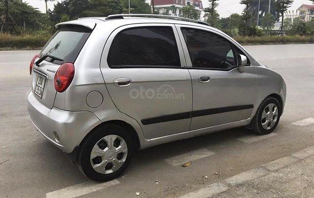 Cần bán lại xe Chevrolet Spark sản xuất 2009, màu bạc2