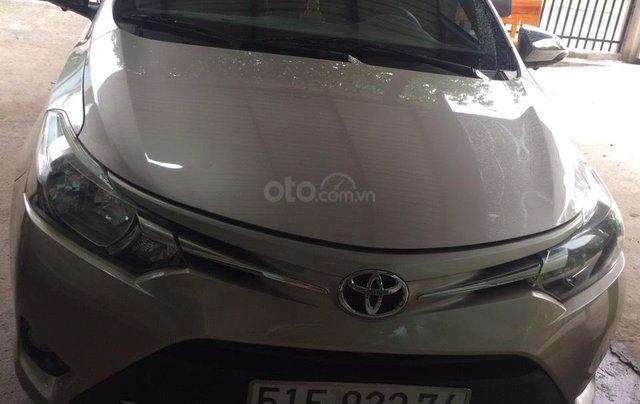 Gia đình cần bán Toyota Vios 20160