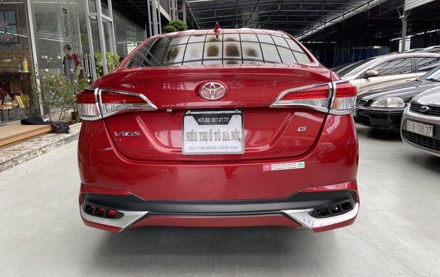 Bán xe Toyota Vios 1.5G màu đỏ, siêu lướt, xe gia đình mới đi 10.000km3