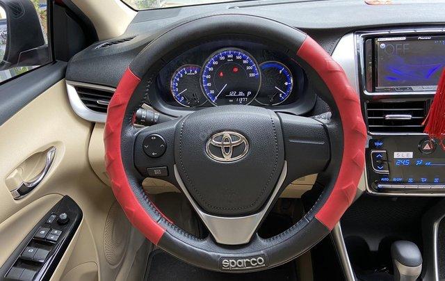 Bán xe Toyota Vios 1.5G màu đỏ, siêu lướt, xe gia đình mới đi 10.000km6