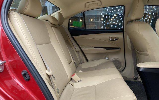 Bán xe Toyota Vios 1.5G màu đỏ, siêu lướt, xe gia đình mới đi 10.000km8