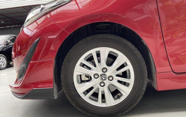 Bán xe Toyota Vios 1.5G màu đỏ, siêu lướt, xe gia đình mới đi 10.000km10