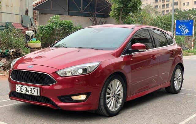 Bán xe Ford Focus năm sản xuất 2016, màu đỏ, xe nhập1