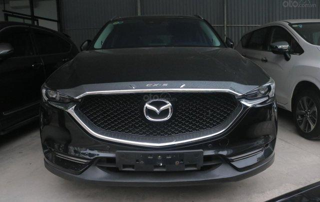 Bán ô tô Mazda CX 5 năm 2018, màu đen, giá chỉ 815 triệu1