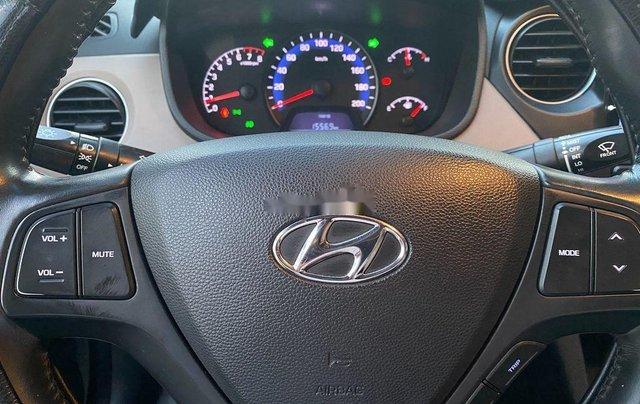 Cần bán xe Hyundai Grand i10 đời 2016, màu bạc, xe nhập 8