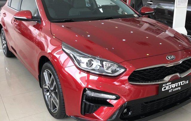 Kia Cerato 2021 - Bản tiêu chuẩn màu đỏ - có xe giao ngay - cũng ưu đãi quà tặng đi kèm0