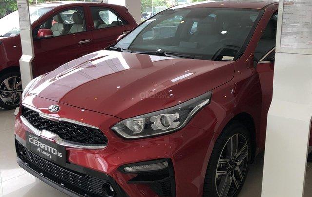 Kia Cerato 2021 - Bản tiêu chuẩn màu đỏ - có xe giao ngay - cũng ưu đãi quà tặng đi kèm1