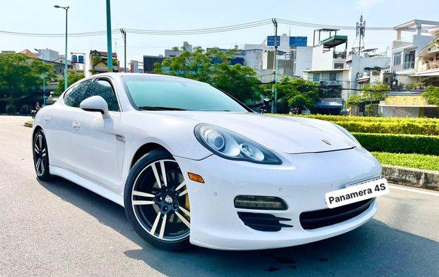 Porsche Panamera 4S nhập 2011 Executive full option hộp số tự động 7 cấp, vô lăng tích hợp phím điều khiển âm thanh0
