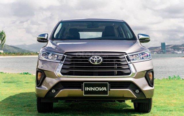 Toyota Innova 2021 - Giảm giá sâu kèm nhiều PK chính hãng, tặng 3 năm bảo dưỡng TMV - Giao xe ngay0