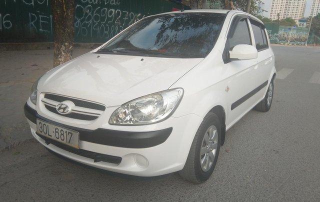 Chính chủ bán nhanh xe Hyundai Getz 1.4 MT số sàn 2008 nhập khẩu0