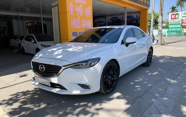 Bán nhanh em Mazda 6 trắng xinh như Ngọc Trinh, với giá cực ưu đãi, hỗ trợ vay vốn đến 70% giá trị xe1
