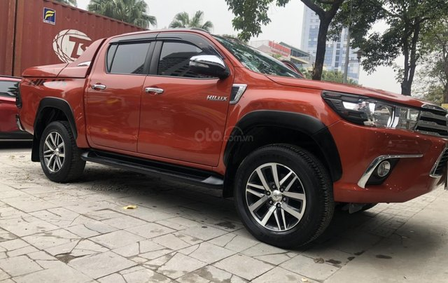 Bán xe Hilux 2.4G 4x4MT model 20170