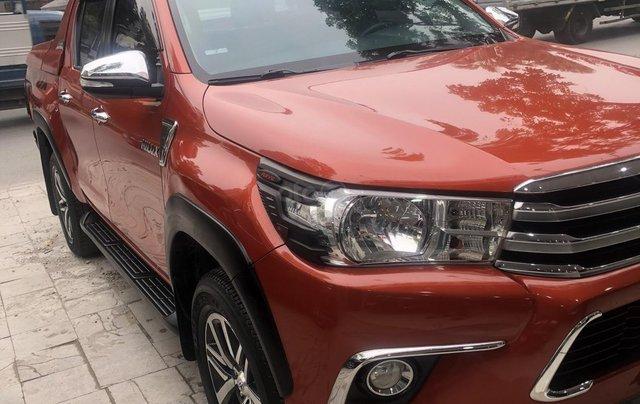 Bán xe Hilux 2.4G 4x4MT model 20177