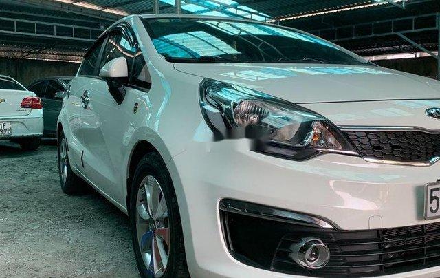 Bán xe Kia Rio 2016, màu trắng, xe nhập1