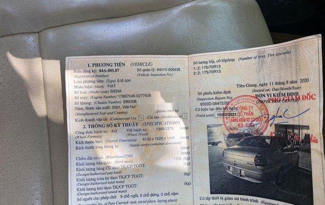 Cần bán lại xe Fiat Siena sản xuất năm 20018