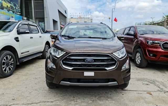 Ford Ecosport Titanium giảm 50% thuế trước bạ, 140 triệu nhận xe, giao ngay trước tết1
