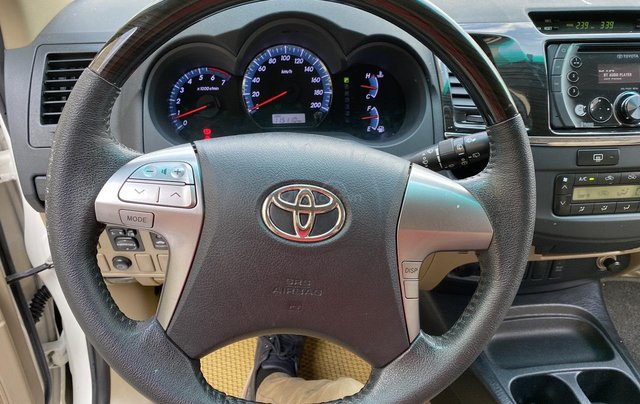 Toyota Fortuner TRD xăng - 1 cầu ĐK 07/2015, xe đẹp giá rẻ10