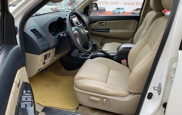 Toyota Fortuner TRD xăng - 1 cầu ĐK 07/2015, xe đẹp giá rẻ12