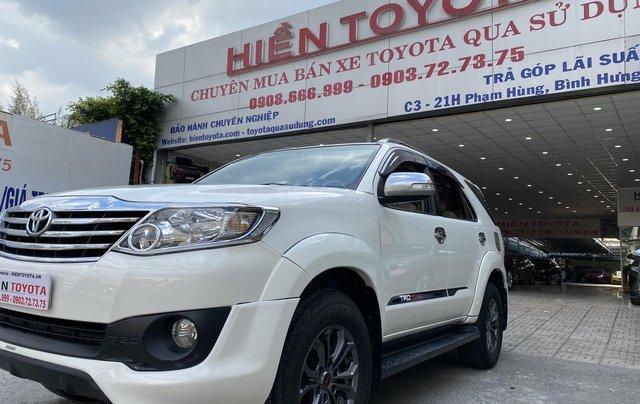 Toyota Fortuner TRD xăng - 1 cầu ĐK 07/2015, xe đẹp giá rẻ6