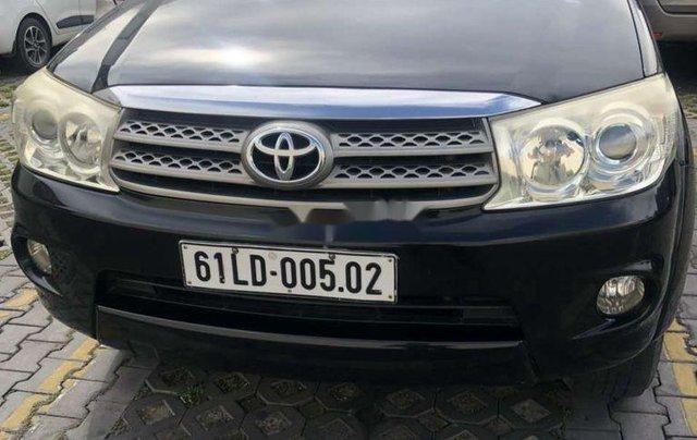 Cần bán xe Toyota Fortuner đời 2012, màu đen còn mới3