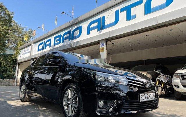 Bán xe Toyota Corolla Altis năm 2015, xe một đời chủ giá ưu đãi4