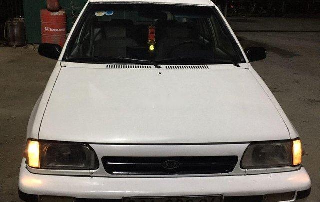Cần bán Kia Pride đời 1996, màu trắng, xe nhập 5