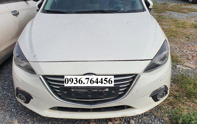 Bán đấu giá theo hiện trạng xe Mazda 3, sx 20151