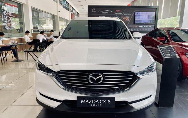 Mazda CX8 2020, giảm 190 triệu, tặng phụ kiện, hỗ trợ bảo hiểm0