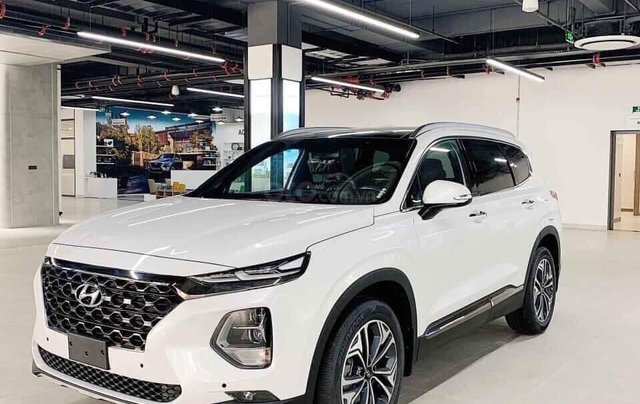 Hyundai Santafe 2021- chỉ 249tr nhận xe ngay - Tặng tiền mặt lên đến 70tr + Bộ phụ kiện chính hãng3